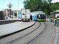 Tram passes by film trailer (18188171823).jpg