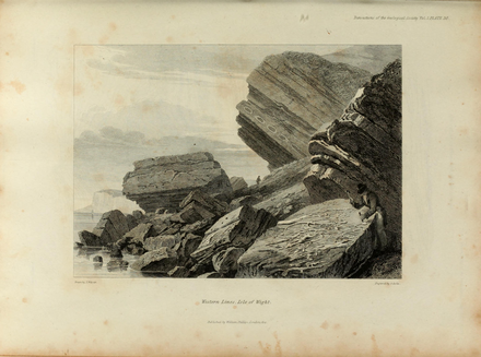 Transactions of the Geological Society, 1st series, vol. 2 plate page 0645