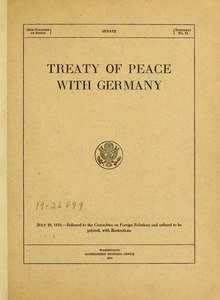 treaty of versailles essays In the first place it is said that the treaty of versailles was a dictated treaty  because throughout the drafting of the treaty the germans were not.