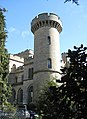 Trefoil tower, Eastnor Castle - geograph.org.uk - 746640.jpg