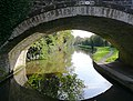 Trent and Mersey Canal through Sarson's Bridge - geograph.org.uk - 1610570.jpg