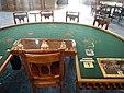 Table de trente et quarante au casino de Monte-Carlo.