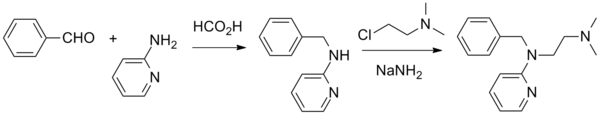 Tripelennamine synthesis.png