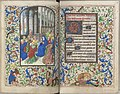 Trivulzio book of hours - KW SMC 1 - folios 044v (left) and 045r (right).jpg