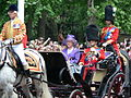 Trooping the Colour 2006 - Her Majesty the Queen (169165211).jpg