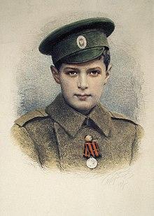 Aleksej nikolajevitsj kronprins av russland