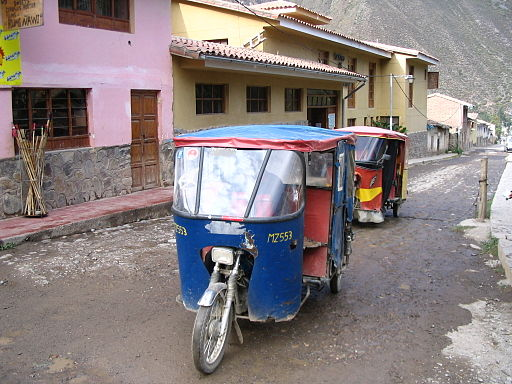 Tuk Tuks at Peru