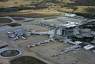 Melbourne Airport international airport serving Melbourne, Australia