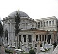 Turbe Sultan Istanbul March 2008pano.jpg