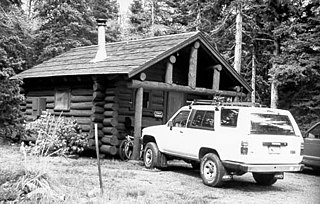 Two Medicine Campground Camptenders Cabin United States historic place