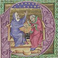 Two astronomers with quadrant, astrological-astronomical manuscript compilation.jpg