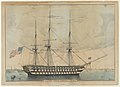 U. S. Ship North Carolina, 102 Guns MET DP853584.jpg