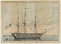 U. S. Ship North Carolina, 102 Guns MET DP853584.jpg