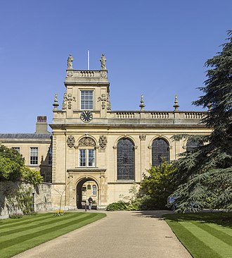 Trinity College, Oxford - Entrance to Trinity College