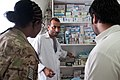 US, Afghan dentists sketch out partnership at police clinic 130829-Z-SW098-007.jpg