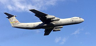 Lockheed C-141 Starlifter - A United States Air Force C-141C of the 452d Air Mobility Wing in 2003