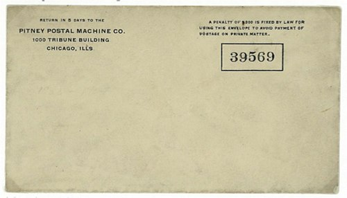 USA meter stamp Pitney Cover.jpg