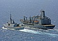 USNS Laramie (T-AO-203) and Courbet (F-712).jpg