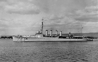 USS Ramsay (DD-124) - Image: USS Ramsay DD124