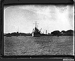 USS ASTORIA at anchor in Farm Cove, Sydney, August 1934 (8177910836).jpg