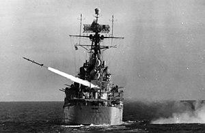 USS Canberra (CAG-2) fires RIM-2 Terrier 1963.jpg