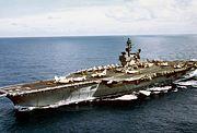USS Constellation (CVA-64) underway 1971-72