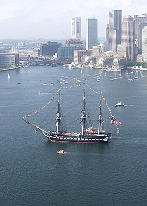 Old Ironsides (poem) - USS Constitution in Boston, 2005
