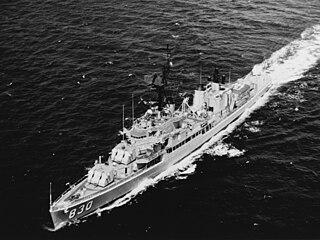 USS <i>Everett F. Larson</i> (DD-830) Gearing-class destroyer