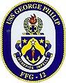 USS George Philip (FFG-12) crest.jpg