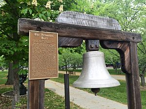 USS Princeton (1843) - USS Princeton Bell at the Princeton Battle Monument