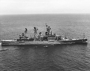 USS Providence (CLG-6) underway on 6 June 1966 (NH 98541).jpg