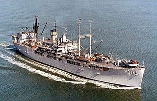 USS <i>Tidewater</i> (AD-31)