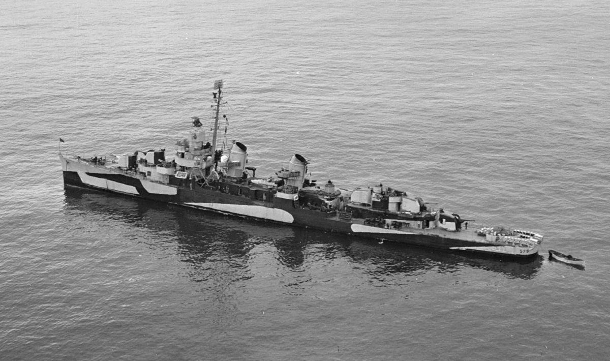 USS William D. Porter (DD-579) – Wikipedia