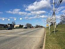 U S  Route 202 in Pennsylvania - Wikipedia
