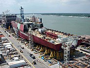 US Navy 020830-N-9999T-002 Pre-commissioning unit San Antonio (LPD 17)