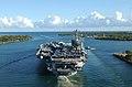 US Navy 040706-N-5923E-041 The Nimitz-class aircraft carrier USS John C. Stennis CVN 74 steams out of Pearl Harbor, Hawaii.jpg