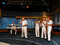 US Navy 060829-N-7659T-001 Navy Band Mid-South rock ensemble Freedom performs in the studio of Fox 8 WJW-TV.jpg