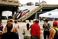 US Navy 070809-N-4515N-123 People gather to view the damage at the I-35 bridge collapse site.jpg