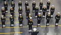 US Navy 081107-N-8848T-043 Chief of Naval Operations (CNO) Adm. Gary Roughead salutes a recruit drill team.jpg