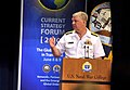 US Navy 100608-N-8273J-023 Chief of Naval Operations (CNO) Adm. Gary Roughead delivers the keynote address during the Current Strategy Forum 2010.jpg