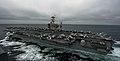 US Navy 110926-N-TU221-966 USS Abraham Lincoln (CVN 72) transits the Pacific Ocean.jpg