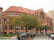 """Old Red"", the original UTMB Galveston building."