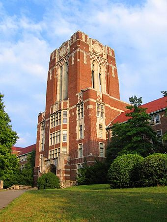 University of Tennessee, Knoxville UT Ayres Hall front.jpg