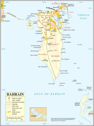 Transport in Bahrain - Transport layout of Bahrain