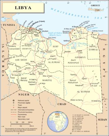Libia Italia Cartina.Libia Wikipedia
