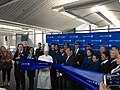 United CEO Munoz cuts the ribbon (32043335794).jpg
