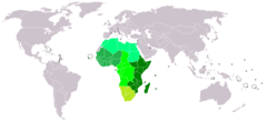 United Nations Economic Commission for Africa (UNECA) member states.png