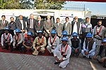 United States Agency for International Development's (USAID) Mission Director to Pakistan, Greg Gottlieb, presented the power distribution companies PESCO and IESCO with tools and maintenance vehicles (15593341429).jpg