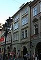 Universita Karolinum (Staré Město), Praha 1, Kamzíková, Celetná, Železná, Ovocný trh, Staré Město - část souboru dům čp. 560.JPG