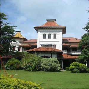 University of Colombo - College House (Regina Walauwa) the administrative headquarters of the University of Colombo